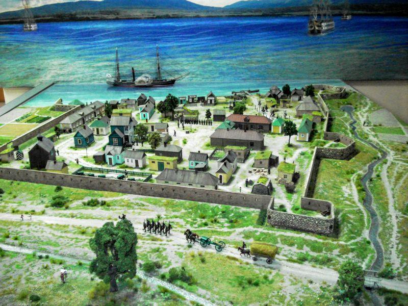 Макет Геленджикского укрепления