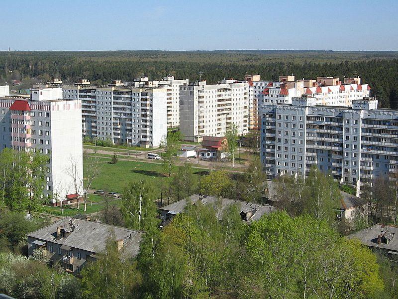 Поселок Большие Вяземы, мкр. Городок-17