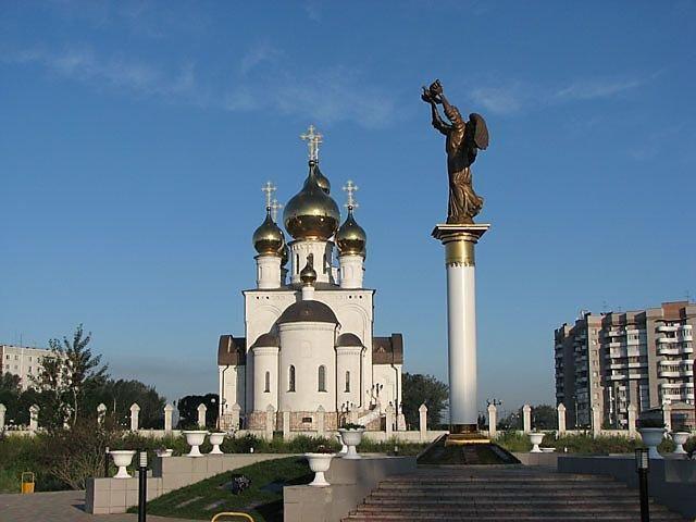 Архитектурно-парковый комплекс «Добрый ангел мира»