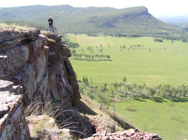 Вид из крепости «Чебаки»