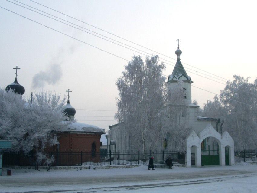 Храм Николая Чудотворца в Абакане