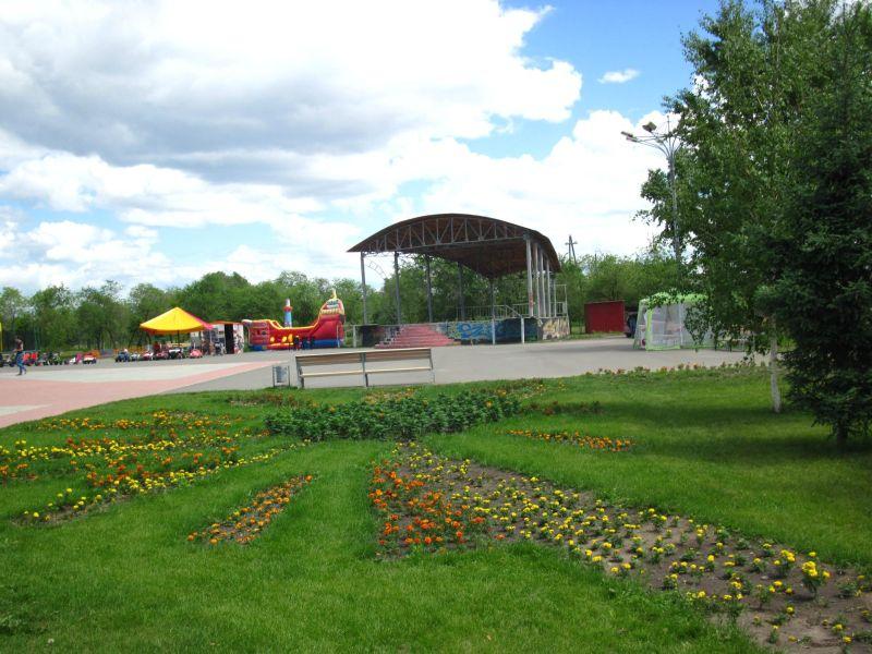 Комсомольский парк в Абакане