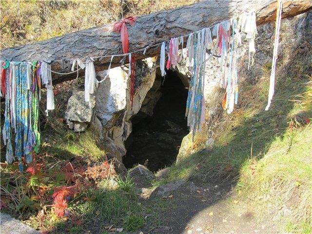 «Кашкулакская» пещера, один из входов
