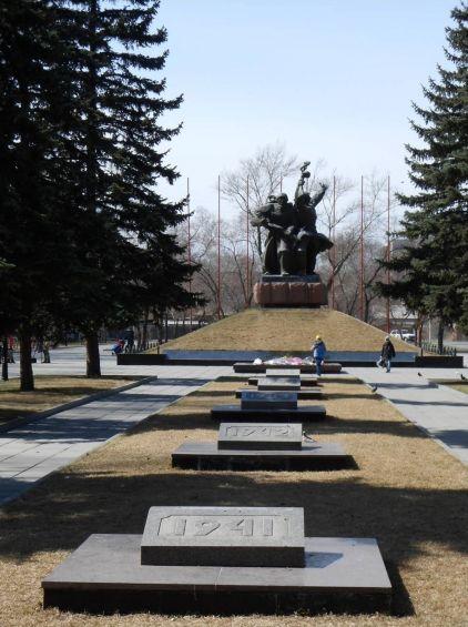 Мемориал Воинской Славы в Абакане