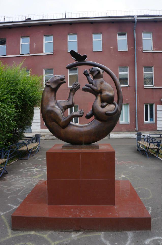 Скульптура «Нежность»
