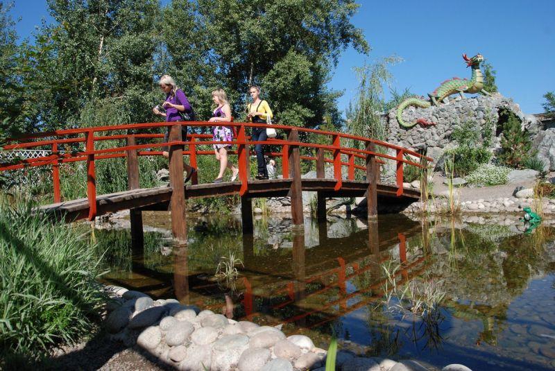 Парк топиарного искусства «Сады мечты» в Абакане